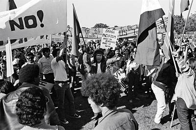 Hershey Photograph - Anti Vietnam War Demonstration by Underwood Archives Adler