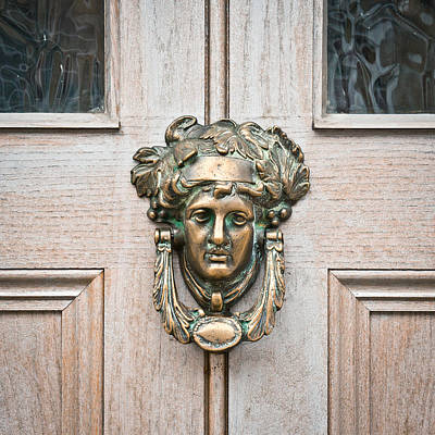 Antique Door Knocker Art Print