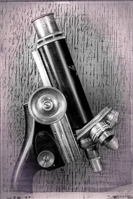 Photograph - Antique Microscope by Garry McMichael