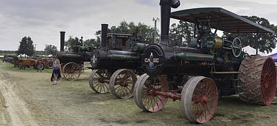 30-55 Years Old Photograph - Antique Tractors by Tim Mulholland