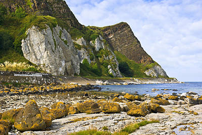 Photograph - Antrim Coast Northern Ireland by Jane McIlroy