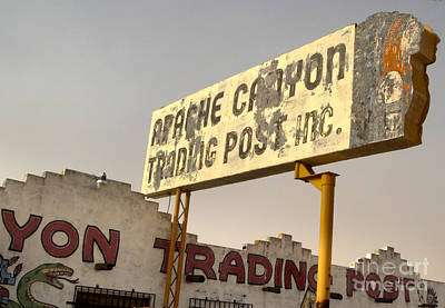 Photograph - Apache Canyon Trading Post by Gregory Dyer