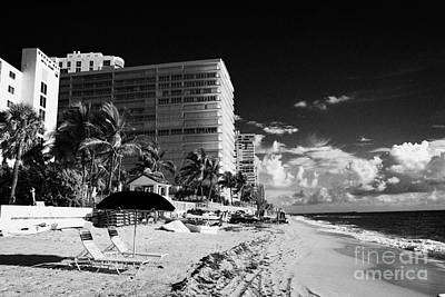 Apartments Hotels And Beachfront Developments Fort Lauderdale Beach Florida Usa Print by Joe Fox