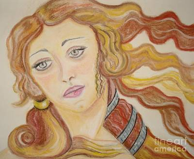 Aphrodite Goddess Of Love Art Print