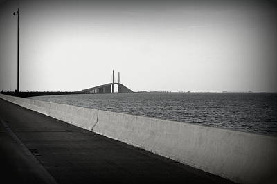 Photograph - Approaching The Skyway by Laurie Perry