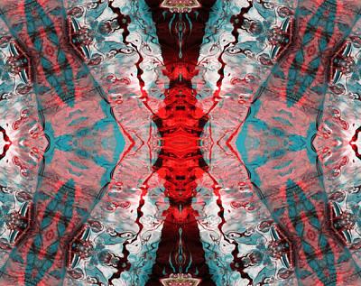 Photograph - Aquatic Lace 7 by Shawna Rowe