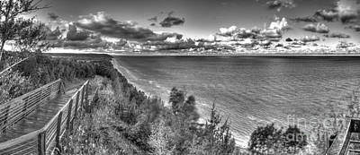 Arcadia Overlook In Black And White Art Print by Twenty Two North Photography
