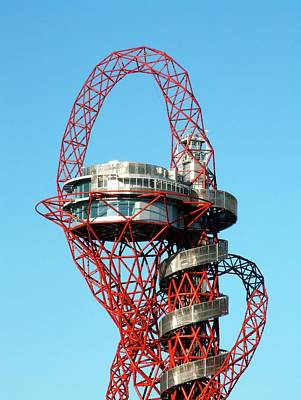 Stratford Photograph - Arcelormittal Orbit by Alex Bartel