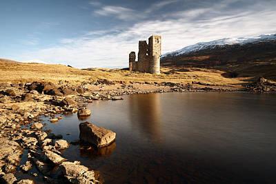 Photograph - Ardvreck Castle  by Grant Glendinning
