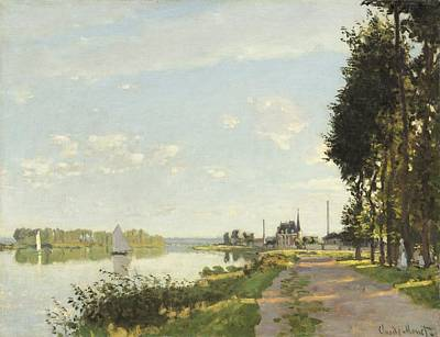 Painting - Argenteuil by Claude Monet