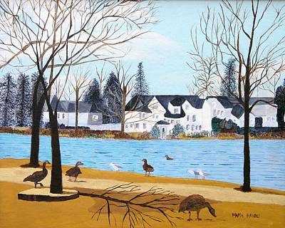 Argyle Lake Art Print by Artists With Autism Inc