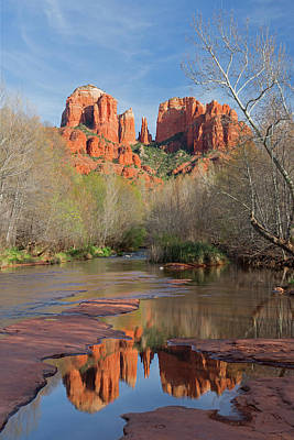 Arizona, Sedona, Crescent Moon Art Print