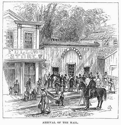 Arkansas Hot Springs, 1878 Art Print
