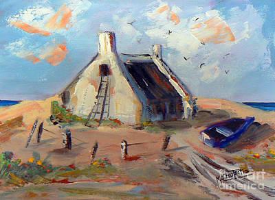 Arniston Painting - Arniston by Marietjie Du Toit