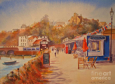 Painting - Around Folkestone Harbour by Beatrice Cloake