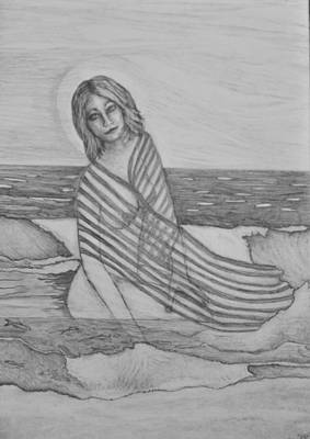 Art Journal Original by Jayne Dejesus