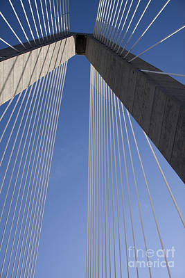 Coopers Photograph - Arthur Ravenel Jr Bridge Charleston Sc by Dustin K Ryan