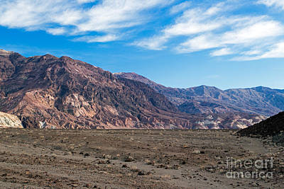 Photograph - Artist Drive Death Valley National Park by Fred Stearns