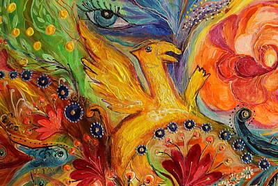 Good Luck Painting - Artwork Fragment 85 by Elena Kotliarker