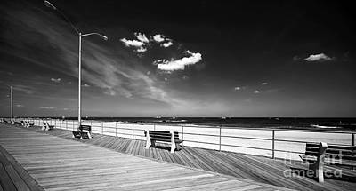 Of Artist Photograph - Asbury Benches by John Rizzuto