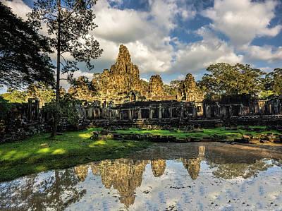 Siem Reap Photograph - Asia, Cambodia, Angkor Watt, Siem Reap by Terry Eggers