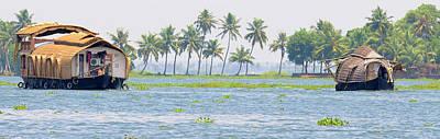 Asia, India, Kerala (backwaters Art Print by Steve Roxbury