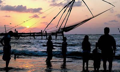 Net Photograph - Asia, India, Kerala, Kochi (cochin by Steve Roxbury