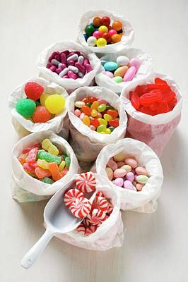 Assorted Sweets In Paper Bags (usa) Art Print