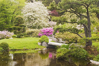 Photograph - Asticou Azelea Garden - Northeast Harbor - Mount Desert Island - Maine by Keith Webber Jr