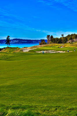 Golf Photograph - #2 At Chambers Bay Golf Course - Location Of The 2015 U.s. Open Championship by David Patterson