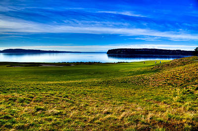 Us Open Photograph - #2 At Chambers Bay Golf Course - Location Of The 2015 U.s. Open Tournament by David Patterson
