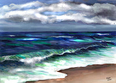 Painting - Atlantic by Clara Sue Beym