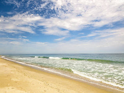 Beach Photograph - Atlantic Ocean Beach by Zina Stromberg
