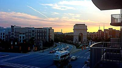 Photograph - Atlantic Station Sunset Vista  by Kenny Glover