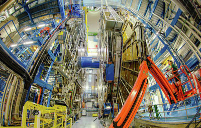 Particle Detector Photograph - Atlas Detector by Babak Tafreshi