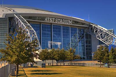Photograph - Att Stadium by Ricky Barnard