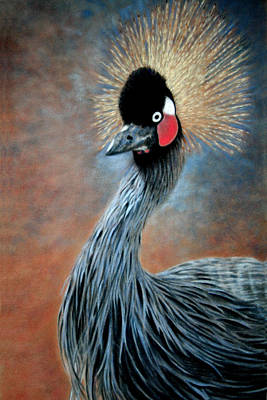 Painting - Attitude Bird by Carol McCarty
