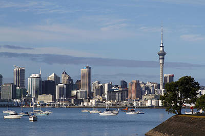 Oceania Photograph - Auckland by Les Cunliffe