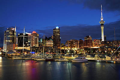 Auckland, North Island, New Zealand Art Print