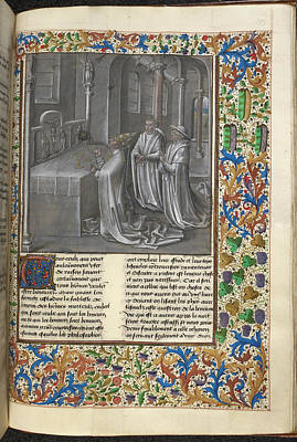 Clergy Photograph - Augustine's 'city Of God' by British Library