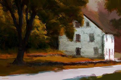 Homestead Digital Art - Autumn At Home by Ron Jones