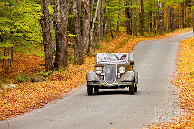 Photograph - Autumn Drive by Brian Jannsen