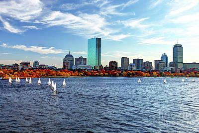 Autumn In Boston Original by Denis Tangney Jr