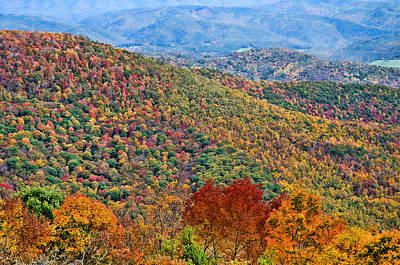 Photograph - Autumn In West Virginia by Steve Stuller