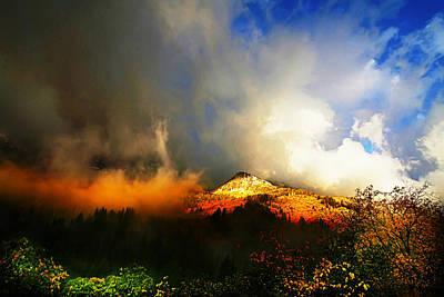 Photograph - Autumn Storm by Mark Smith