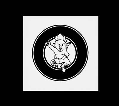 Bad Boy Logo Art Print by Bad  Boy