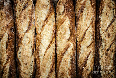 Hand Crafted Photograph - Baguettes by Elena Elisseeva