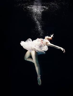 Photograph - Ballet Dancer Underwater by Henrik Sorensen
