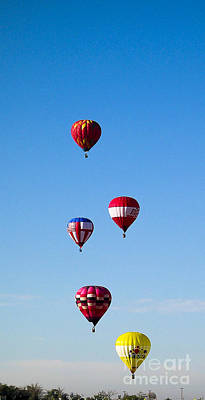 Photograph - Balloon Fiesta 2 by Steven Ralser