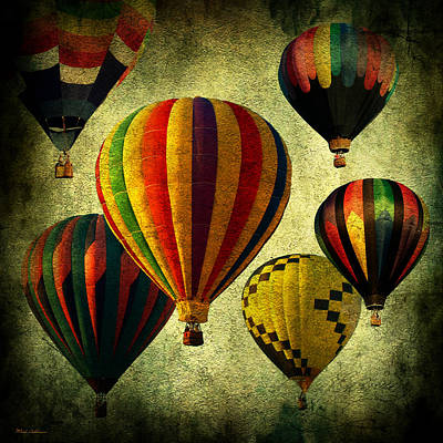 Balloons Art Print by Mark Ashkenazi